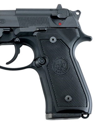 BERETTA GRIPS 92FS 96 92A1 M9 BLK - for sale