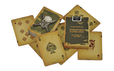KBAR PLAYING CARDS - for sale