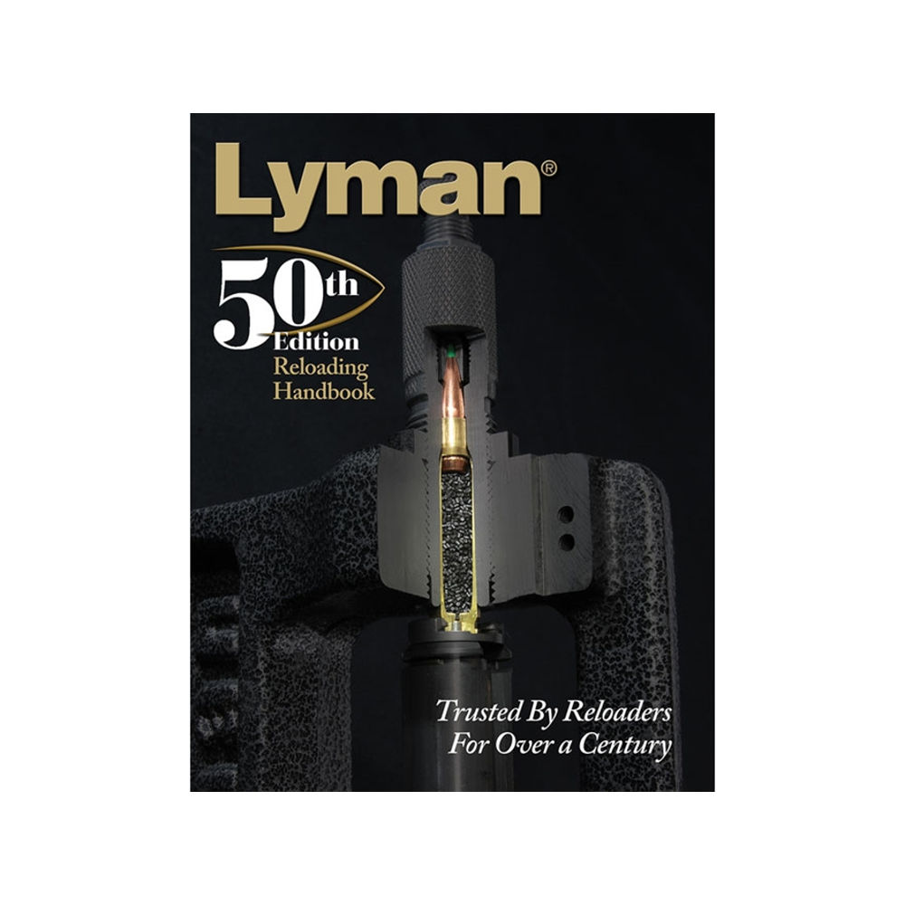 LYMAN 50TH RELOADING HANDBOOK SOFTCOVER 528 PAGES - for sale