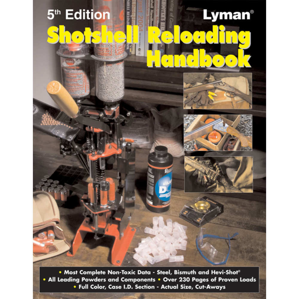 LYMAN SHOTSHELL HANDBOOK 5TH EDITION 408 PAGES - for sale
