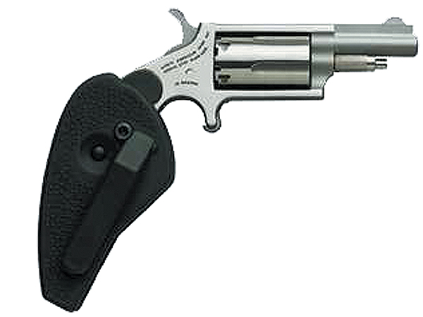 "NA MINI-REVOLVER COMBO 1-5/8"" .22LR/.22WMR S/S W/HOLSTER GRP - for sale"