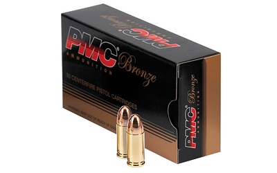 PMC BRNZ 9MM 124GR FMJ 50/1000 - for sale