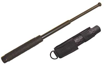 "PS EXP BATON 26"" RBR HANDLE BLK - for sale"