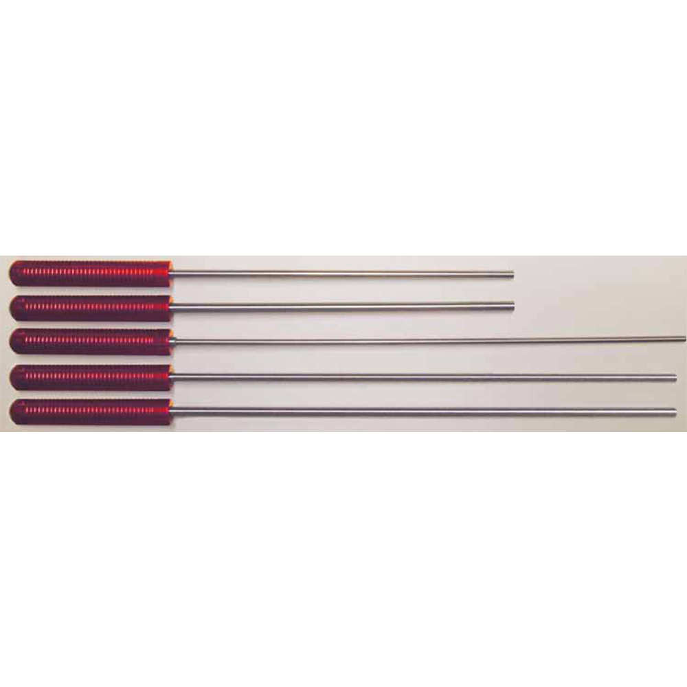 pro-shot - Micro Polished Cleaning Rod - CLNG ROD 1PC 26IN RFL .22-26 CAL SS for sale