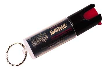 security equipment - KR14 - SABRE DFNS SPRAY 0.54OZ KEY RING for sale