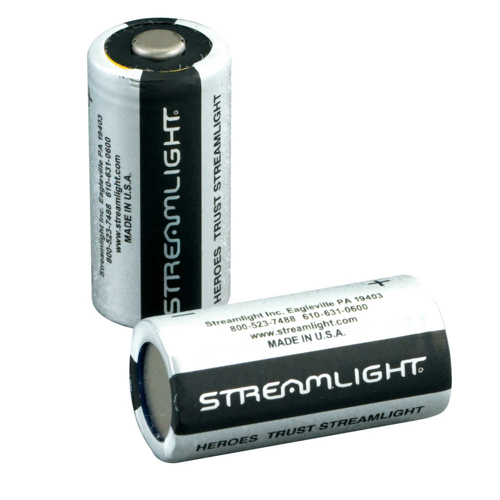 streamlight - Scorpion - LITHIUM CR123 BATTERIES 2PK for sale