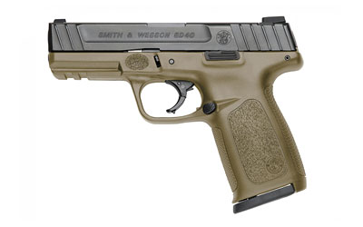 "S&W SD40 40SW 14RD 4"" FDE FS 2MAGS - for sale"