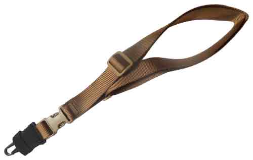 TAC SHIELD SLING SINGLE POINT CQB TACTICAL HK HOOK COYOTE - for sale