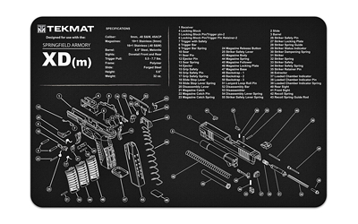 tekmat - Original Cleaning Mat - TEKMAT SPRINGFIELD XDM - 11X17IN for sale