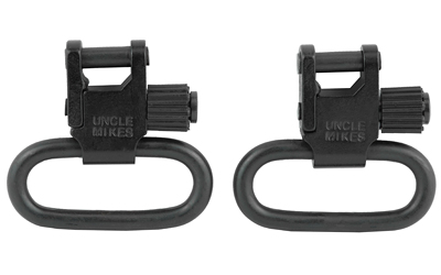 uncle mike's - Standard Swivels - QDSS BL 1IN SLING SWIVEL for sale