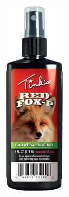 TINKS COVER SCENT RED FOX URINE 4FL OUNCES SPRAY BOTTLE - for sale