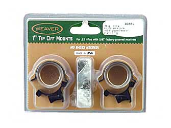 "WEAVER SURE GRIP TIP OFF 1"" GLOSS - for sale"